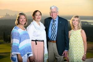 Jane Buckner, MD, Carla DewBerry, Jack Wimpress, Jeanne Jachim